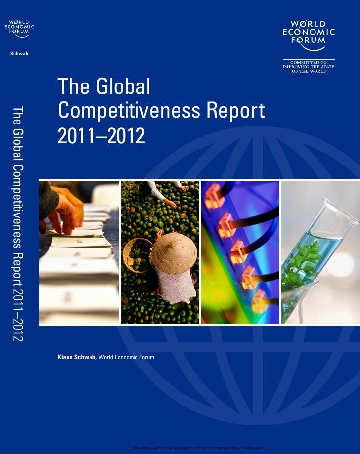 Reporte de Competitividad Global 2011 2012