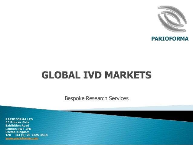 The global ivd market