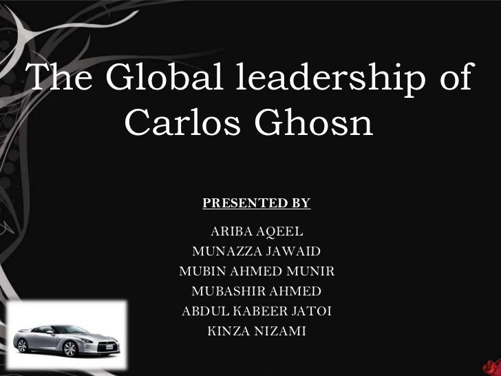 nissan and ghosn case study recommendation Insead this case, funded by the insead although the radical cuts set out by carlos ghosn in the nissan revival plan review promotion recommendations.
