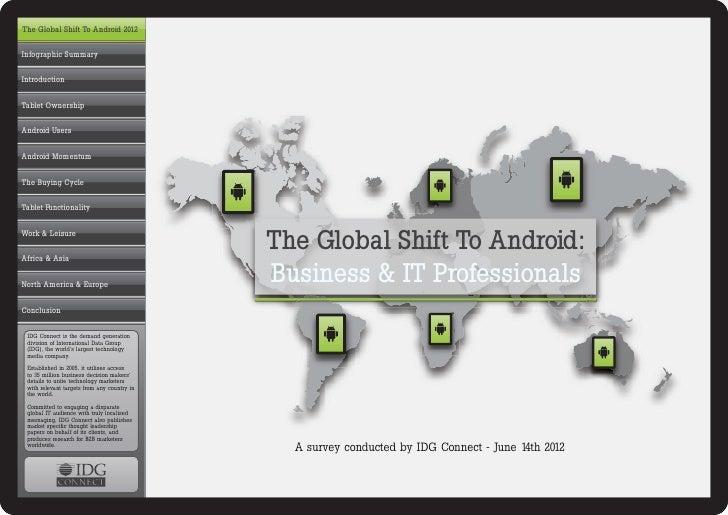 全球化平板电脑的职场之争,Android较iPad更被看好