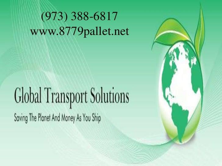 The global transportation pallet