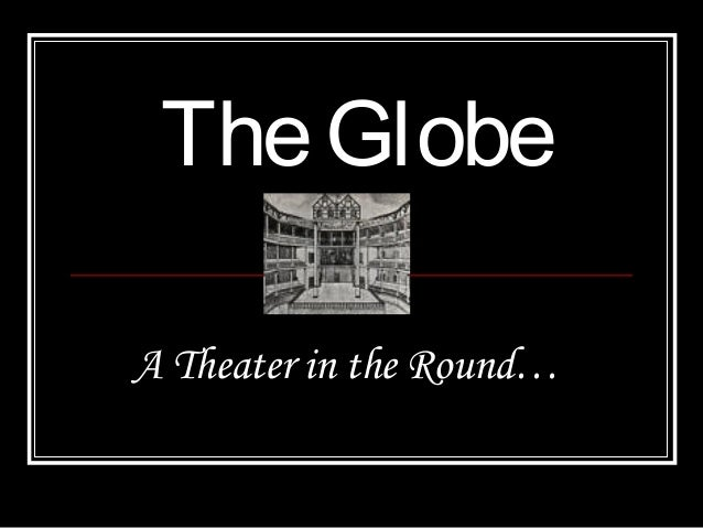 TheGlobe A Theater in the Round…