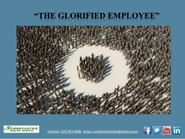 The glorified employee (3)