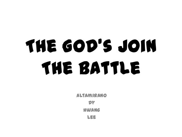 The god's join the battle