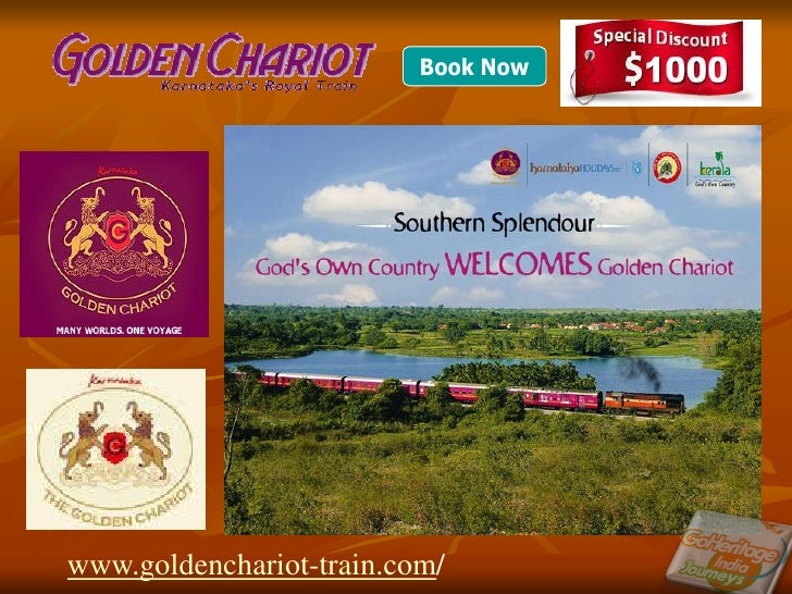 Downlaod India Luxury Itinerary Golden Charriot Itinerary and Golden Charriot Tour, Review, Travel Information Guide