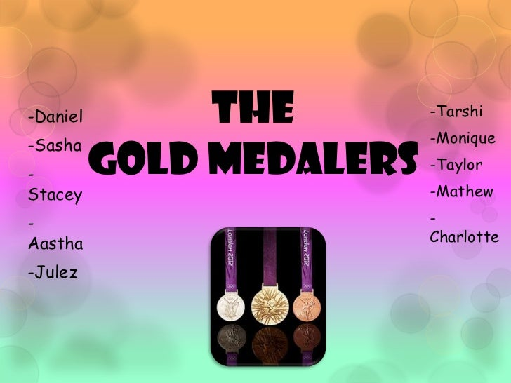 Boronia West - 2012 Gold Medallers