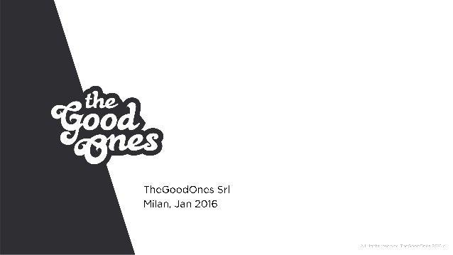 TheGoodOnes Presentation Aug 2014