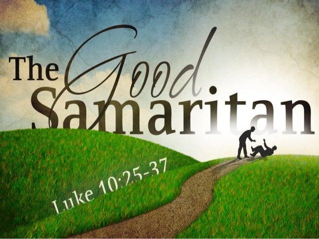 how to become a good samaritan