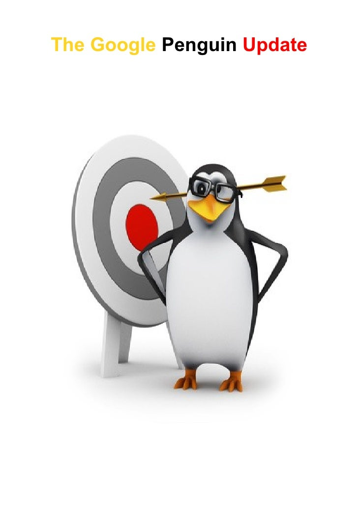 The google penguin update