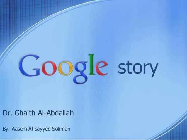 storyDr. Ghaith Al-AbdallahBy: Aasem Al-sayyed Soliman