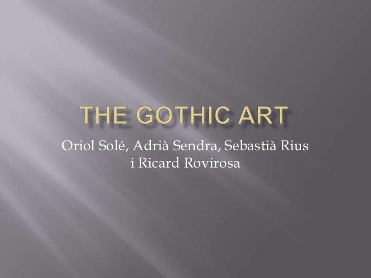 The gothic art (1)