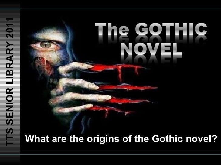 The gothic genre 2011 12