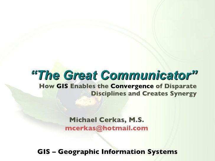 The Great Communicator 2008