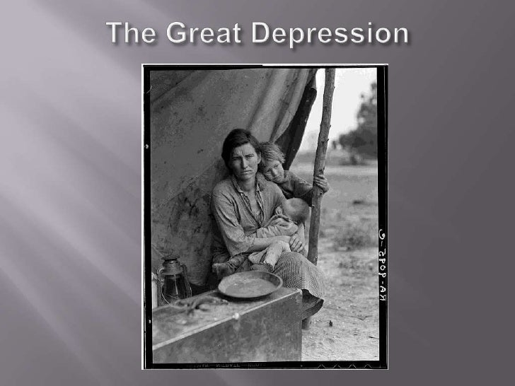 The Great Depression<br />