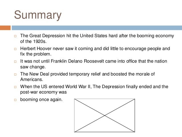 an analysis of the causes of the great depression in the united states Get all the facts about what caused the great depression and how it ended on historycom helped spread economic woes from the united states throughout the.