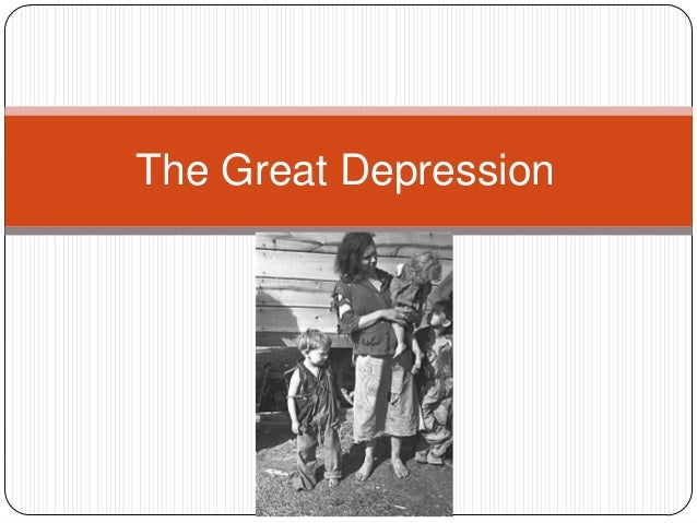 the great depression term paper tpic