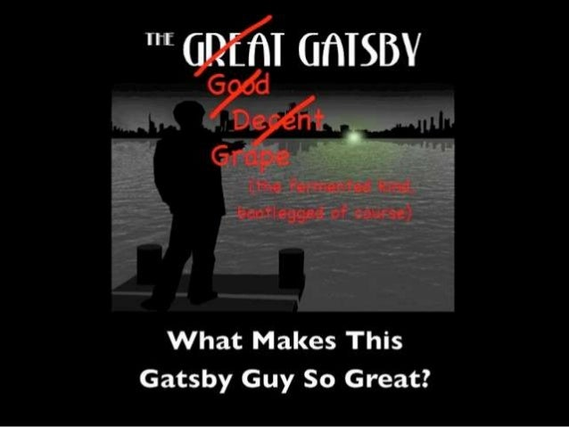 FUNERAL • No one that came to Gatsby's parties is   there because they don't care; they only   came because of his status ...