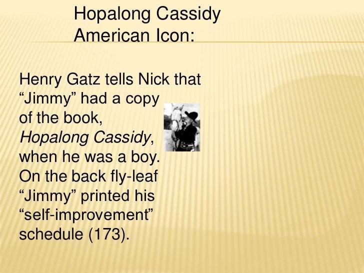 Self improvement goals hopalong cassidy