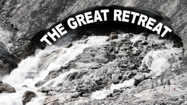 The great retreat