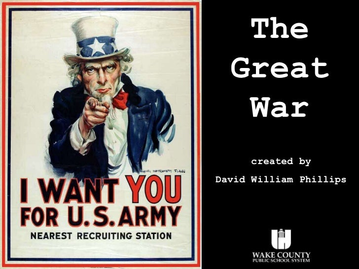 The Great War created by David William Phillips