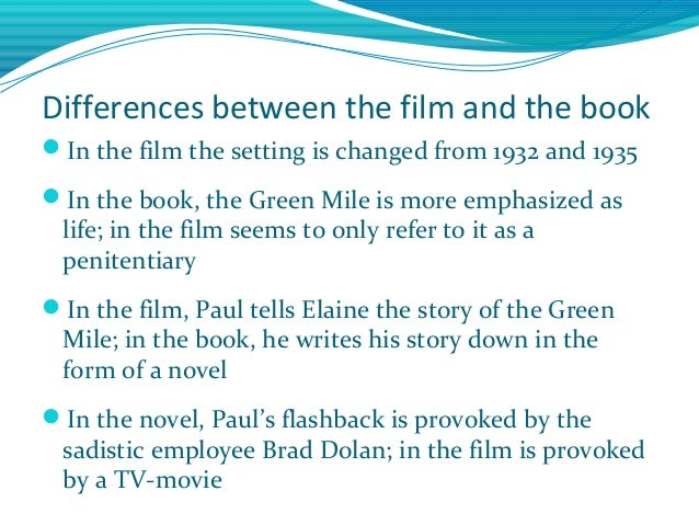 Examples of essay hooks comparing movie and book