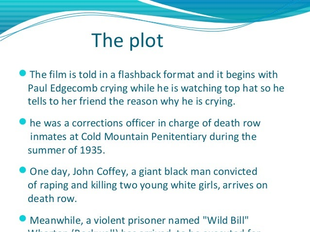 the theme of capital punishment in the green mile An analysis of the death penalty controversy  7 pages capital punishment,  cruel and unusual punishment juvenile death penalty main themes in the green mile .