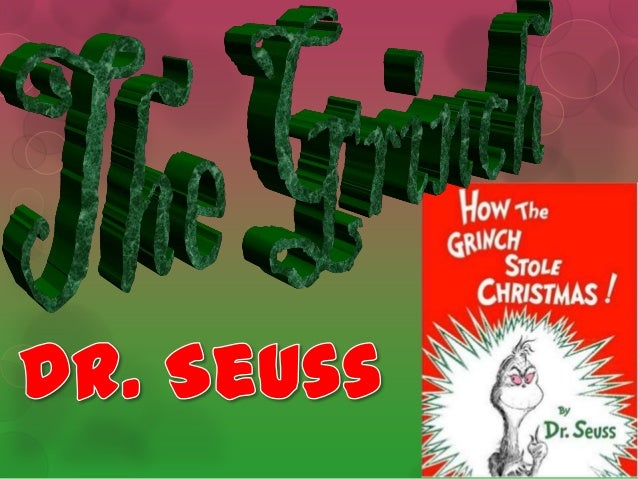 It is about…By the famous Dr. Seuss. In Whoville, live the Whos, an almost mutatedsort of munchkinlike people. All the Who...