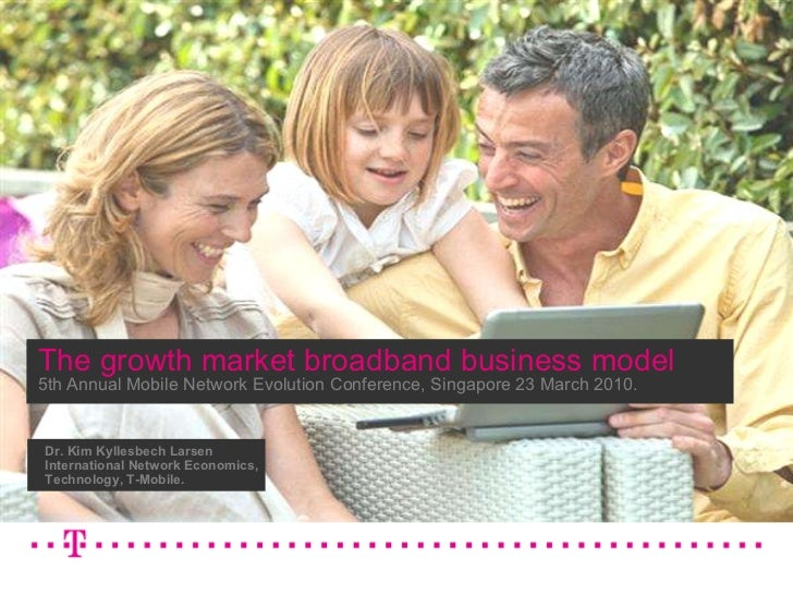 The growth market mobile broadband business model