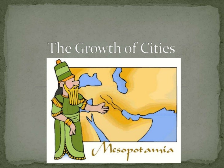  In Mesopotamia it is either very  (1) DRY or the Tigris and  Euphrates Rivers (2) FLOOD. Humans needed a way to  contro...