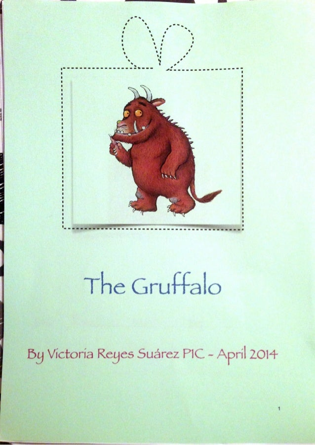 The gruffalo by victoria