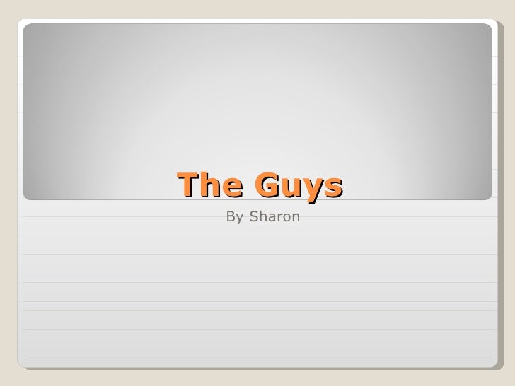 The Guys By Sharon