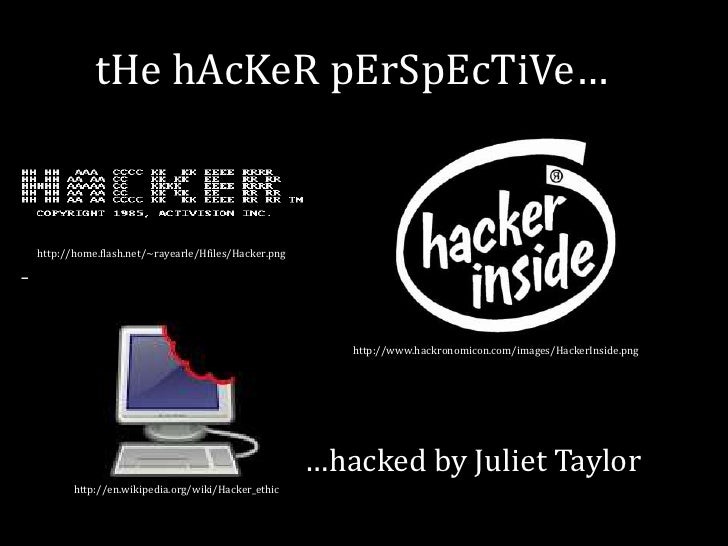 The Hacker Perspective