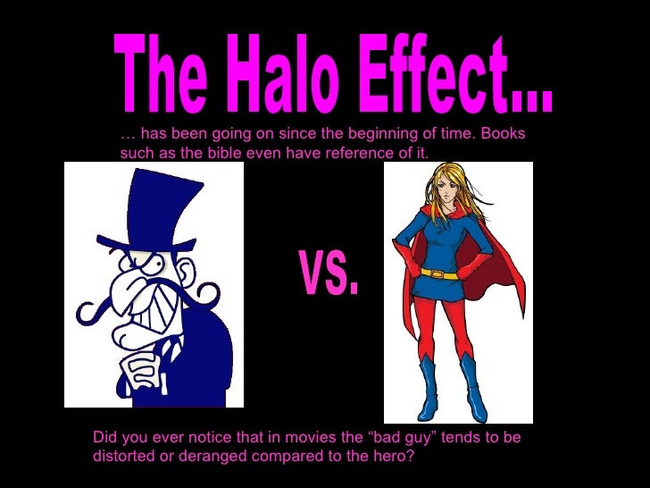 Halo effect dating