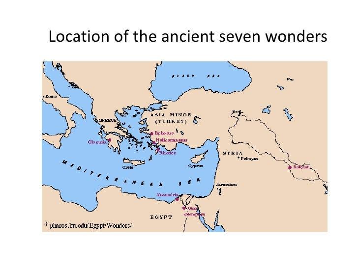 Location of theancientsevenwonders<br />