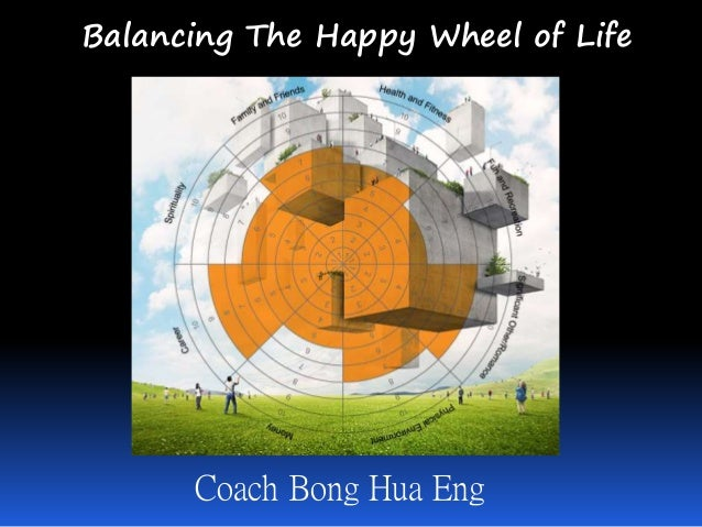 Balancing The Happy Wheel of Life