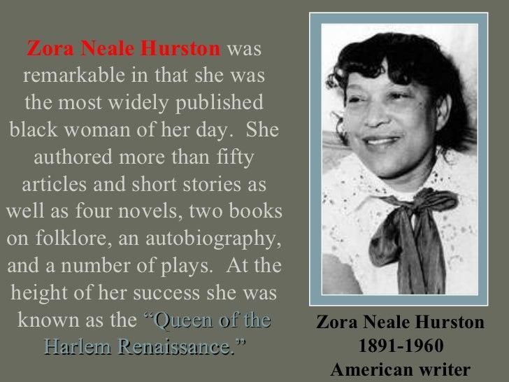 Zora Neale Hurston Essay