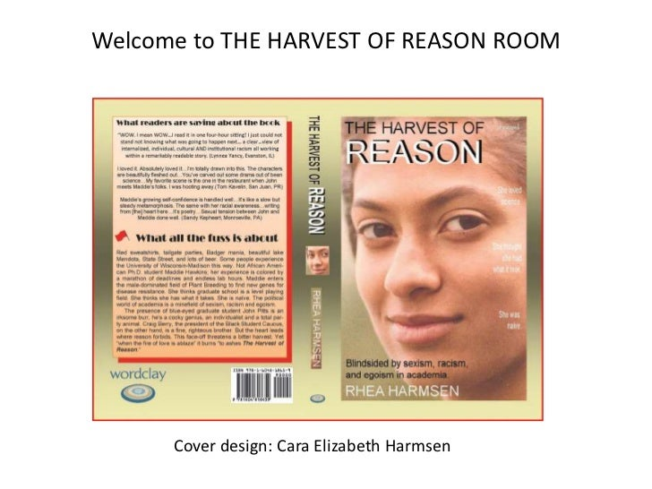The harvest of reason room3   booklaunch event