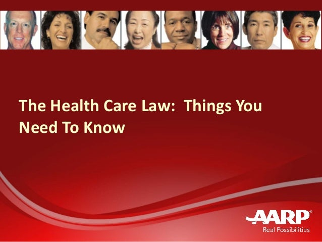 The health care law things you need to know presentation deck handout march 21 2013
