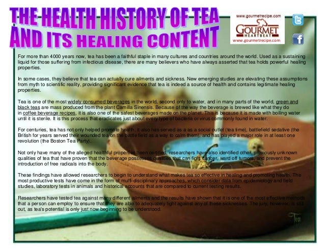 www.gourmetrecipe.com For more than 4000 years now, tea has been a faithful staple in many cultures and countries around t...