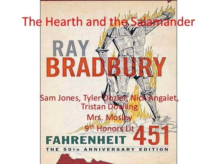 The Hearth and the Salamander   Sam Jones, Tyler Dozier, Nick Angalet,             Tristan Dowling               Mrs. Mosl...