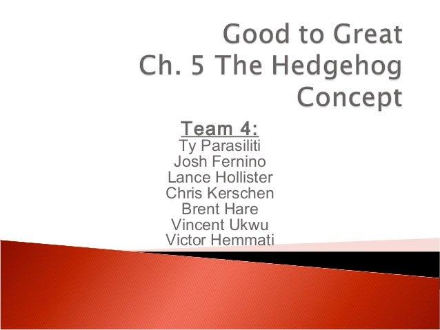 Team 4:  Ty Parasiliti Josh FerninoLance HollisterChris Kerschen  Brent Hare Vincent UkwuVictor Hemmati