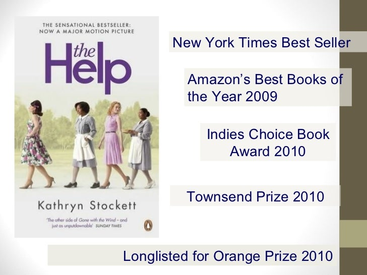 essay questions help kathryn stockett Free essay: the novel the help by kathryn stockett tells a story of the struggles that african american women experienced in the early 1960's through the.
