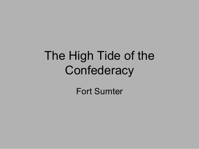 high tide of the confederacy Barksdale's charge has 44 ratings and 9 reviews george said: a stirring if somewhat flawed read barksdale and the mississippi brigade absolutely fought.