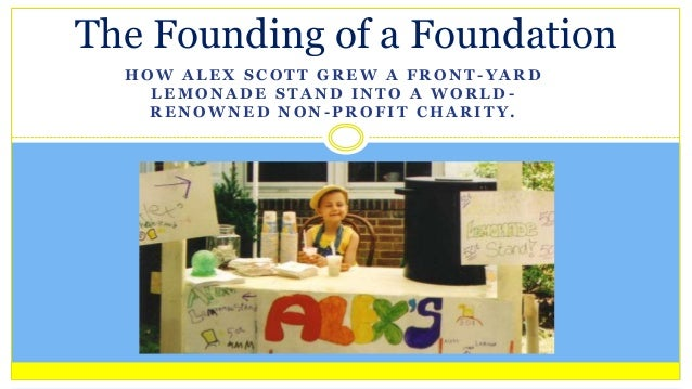 The Founding of a Foundation