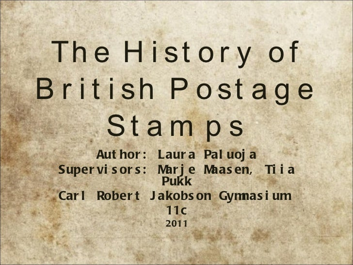 The history of british postage stamps  laura