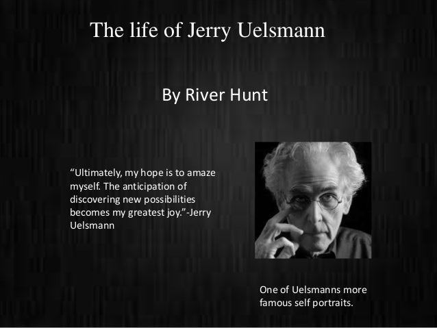 "The life of Jerry Uelsmann                    By River Hunt""Ultimately, my hope is to amazemyself. The anticipation ofdisc..."
