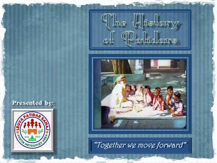 """Presented by:                """"Together we move forward"""""""