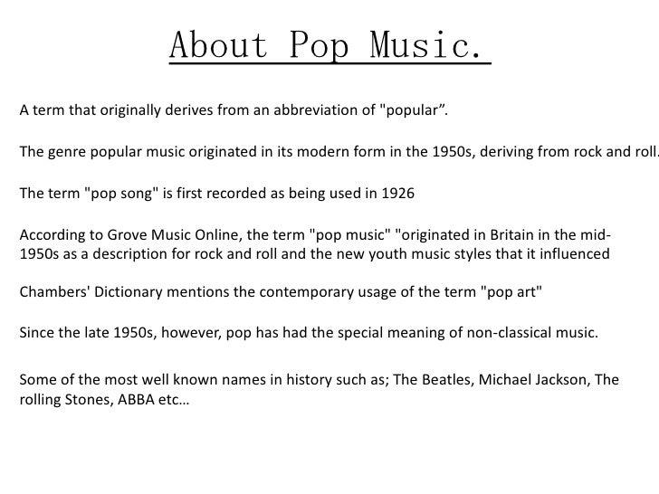 Most Popular Artists