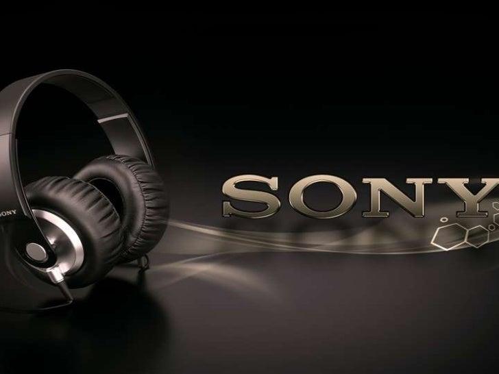 The history of sony