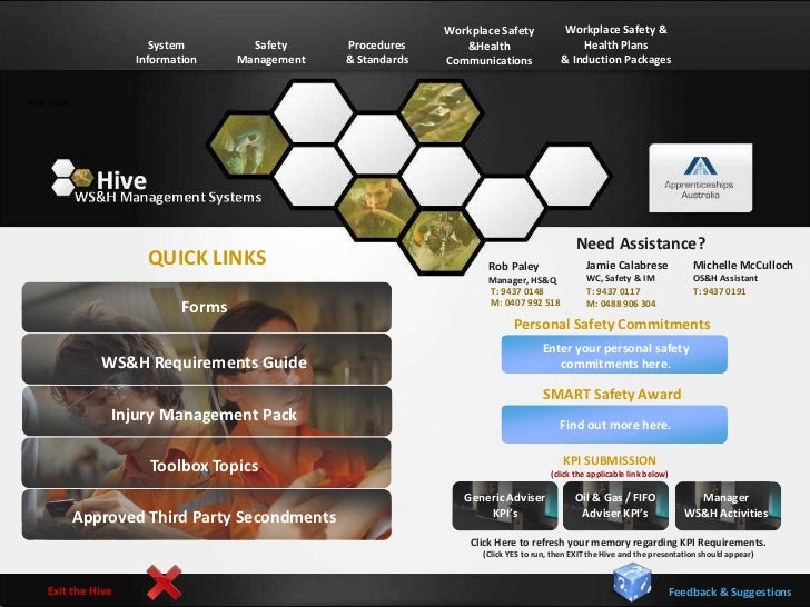 the Hive OSH Management System